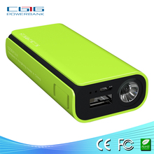 CE, ROHS, FCC shenzhen reliable supplier portable power bank charger with 5200mah for panasonic, HP, HTC, digital camera