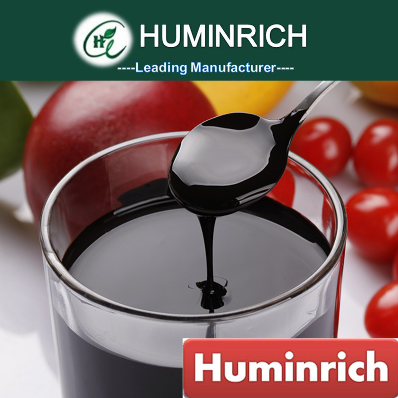 Huminrich Reduced Shipping Cost For All Soils 15%Ha+3%Fa+3%K2o Leonardite Humic Acid Organic Liquid Fertilizer