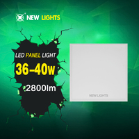 Alibaba Express 36W 600*600MM High Quality Square Recessed Led Panel Light with CE RoHS