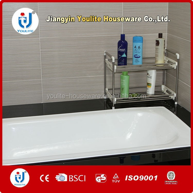 decor portable bathroom plastic corner shelf