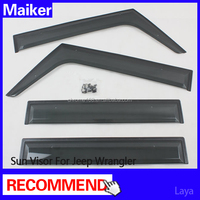 Auto Accessories 4 Doors sun visor for jeep wrangler parts from Maiker