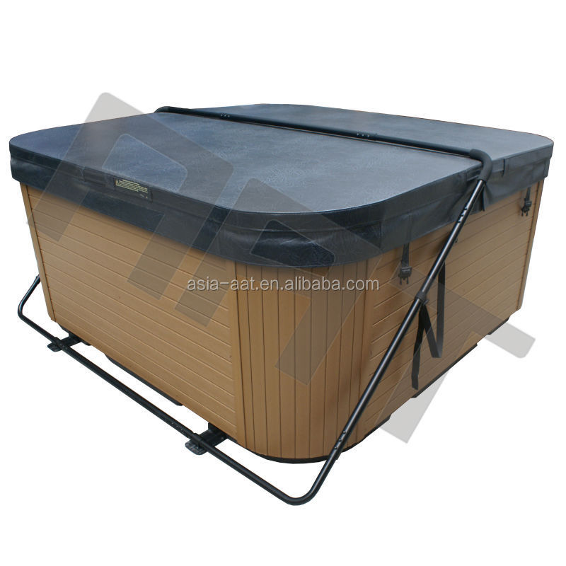 brown hot tub cover 2015 top quality waterproof hot tub cover