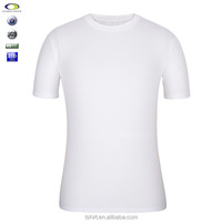 China manufacturing custom white plain t shirt