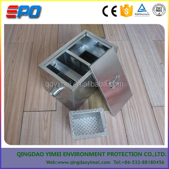 Kitchen Oil Water Separator/Restaurant Sewer Wastewater Treatment/Canteen Sewage Oil Water Separator Equipment