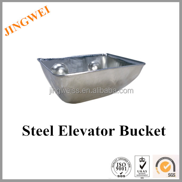 chain type elevator bucket,industrial metal conveyor chut,elevator cup for rubber belt