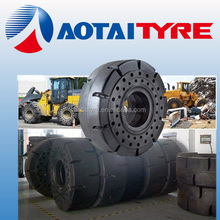 High performance 17.5-25 20.5-25 23.5-25 26.5-25 Aotai Crownway wheel loader Solid tyre
