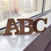 Hand painted Wooden Alphabet Letters table or wall DIY letters