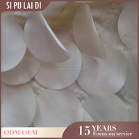 "120"" oversized Custom luxel hotel party petal taffeta round ivory table cloths"