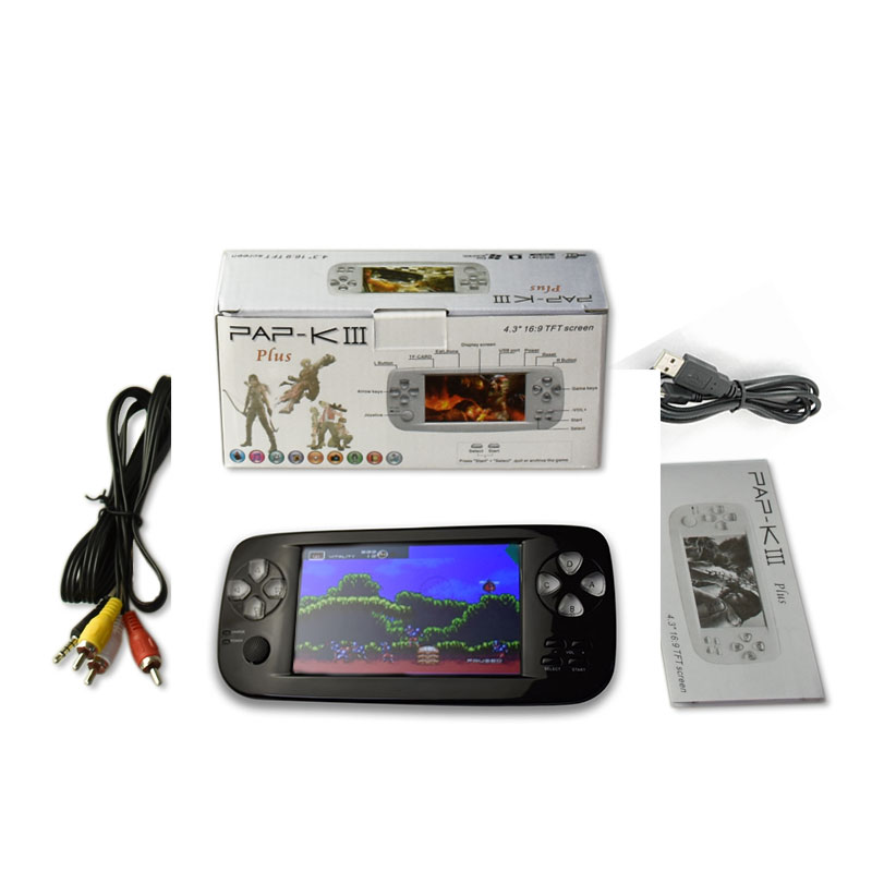 2013 fashion free download 3d games with mp5 Multi-Function PAP-KIII game console game player
