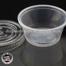 Disposable 2oz pp shot plastic portion cups