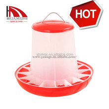 poultry feeder 1.5 kgs 180mm red chicken food feeder
