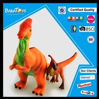 2016 promotional items soft rubber dinosaur toy life-size dinosaur models
