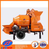 C3 good service electric small portable concrete mixer pump with competitive price