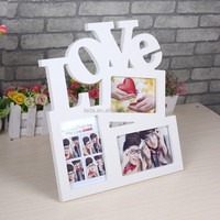 wood nature color photo/picture frame weding home decoration