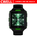"UNIWA M9 1.54"" IPS Screen 4G LTE Android Watch Smartwatch Sport Waterproof IP67"
