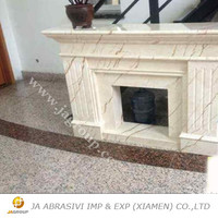 Hot sell decorative china marble fireplace JAG stone