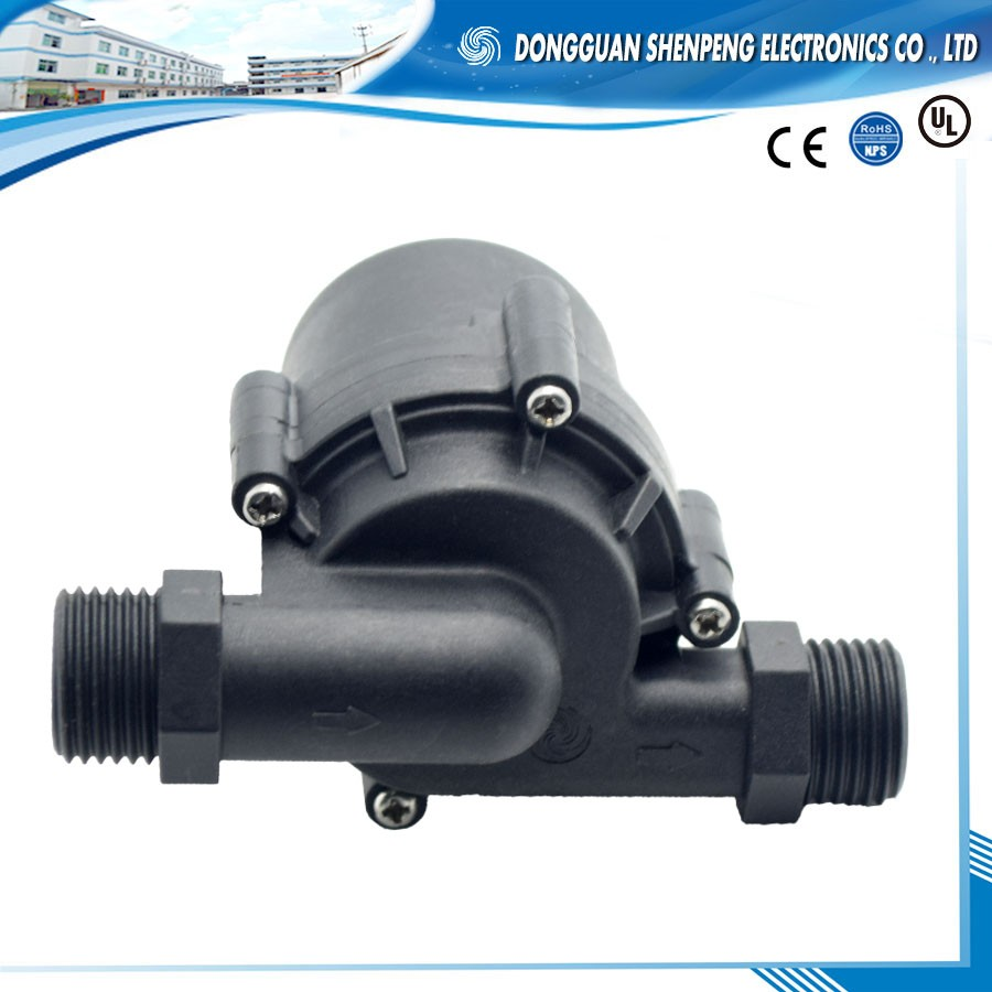 Solar water heater mini brushless 12v 24v water pump for home used