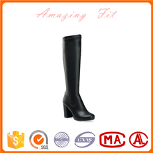 Wholesale high heel sex women leather thigh high boots