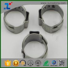 Beijing SUREALONG single ear compression hose clamps / pipe clips