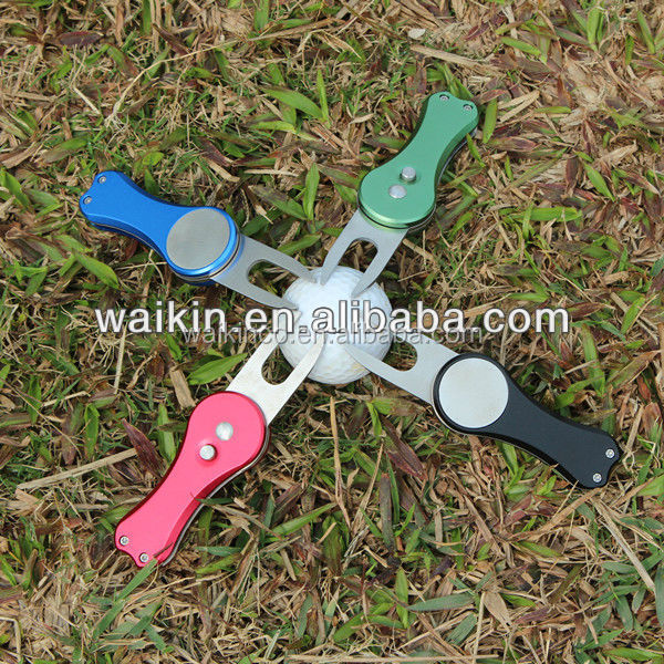 Switchblade Golf Knife Divot Tool Knife With Ball Marker