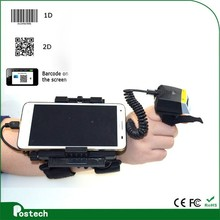 WT01+ FS01 android smart phone terminal + mini bluetooth qr barcode scanner