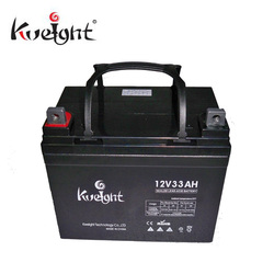 Maintenance free 12v 33ah deep cycle batteries for solar panels
