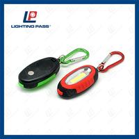 New arrival light weight small portable mini mini led carabiner flashlight for promotion