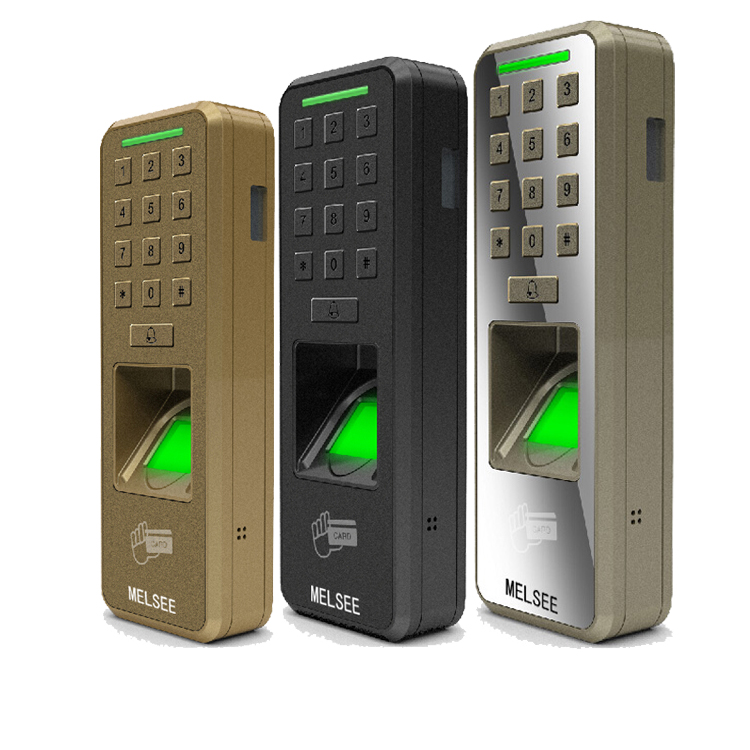 MELSEE factory Fingerprint RFID metal access control device