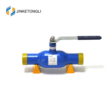 long stem stainless steel full welded ball valve for gas