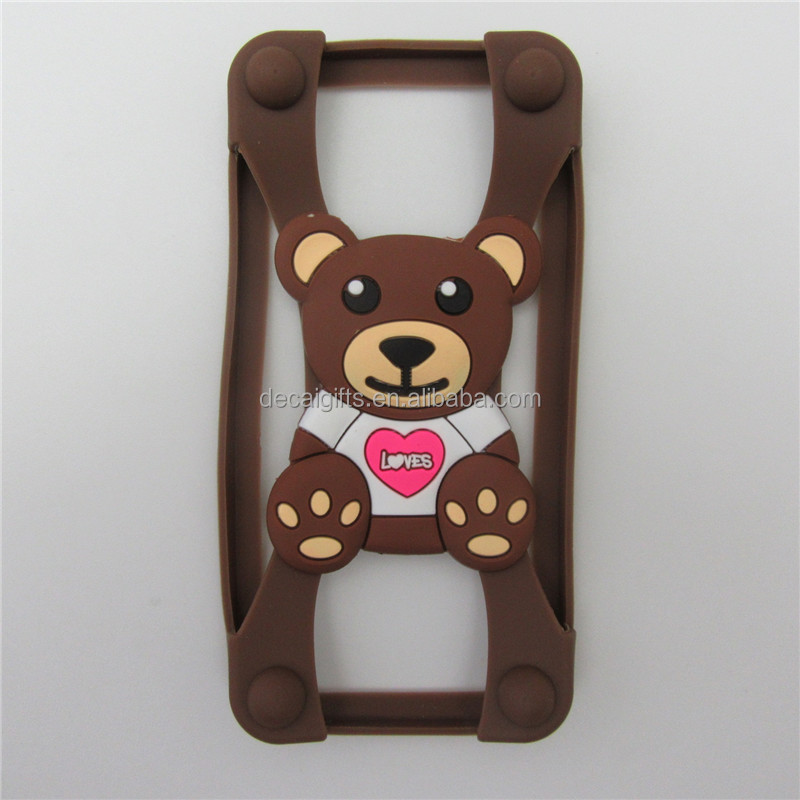 Wholesale custom promotional silicone phone case cell phone cases for iphone