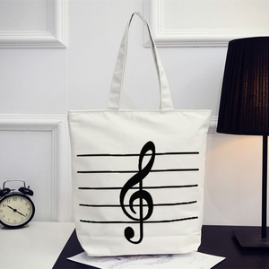 newest design fashionable Musical note printing bag