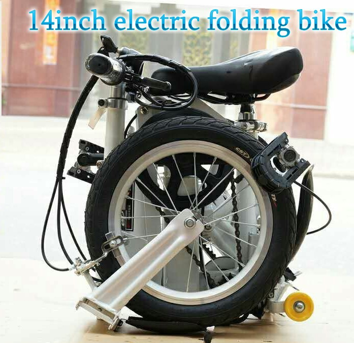 easy carry foldable <strong>bicycle</strong>_ 14inch folding bike _ smalleat portable bike