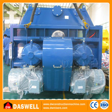 Daswell ce certificate good quality belle sicoma twin shaft concrete mixer