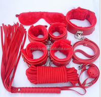 8pcs Set Kit Whip Cuff Clamp Adult Fetish Sexy Toys