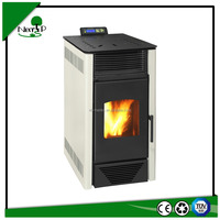 6kw indoor using auto-feedng and auto-ignitor wood pellet stove