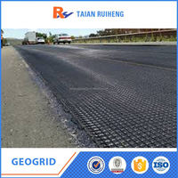 Reinforcing Warp Knitting Polyester Geogrid Cheap