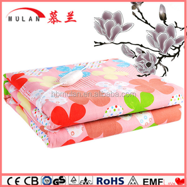 Cotton Battery Rechargeable Heated Blankets