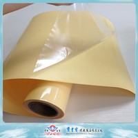 transparent waterbased adhesive PET photo paper