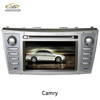touch screen car dvd player car audio system for toyota camry
