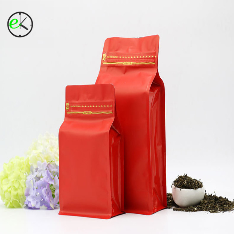Wholesale Low MOQ Resealable Aluminum Foil Coffee Bag <strong>Packing</strong> With Zipper For Sale