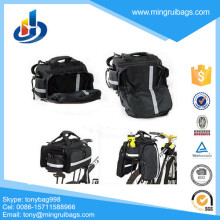 Bike motor saddle bag