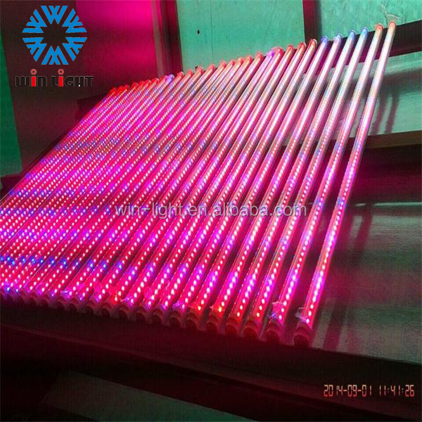 High quality red and blue customizable t8 led grow plant light tube factory with 2 years warranty