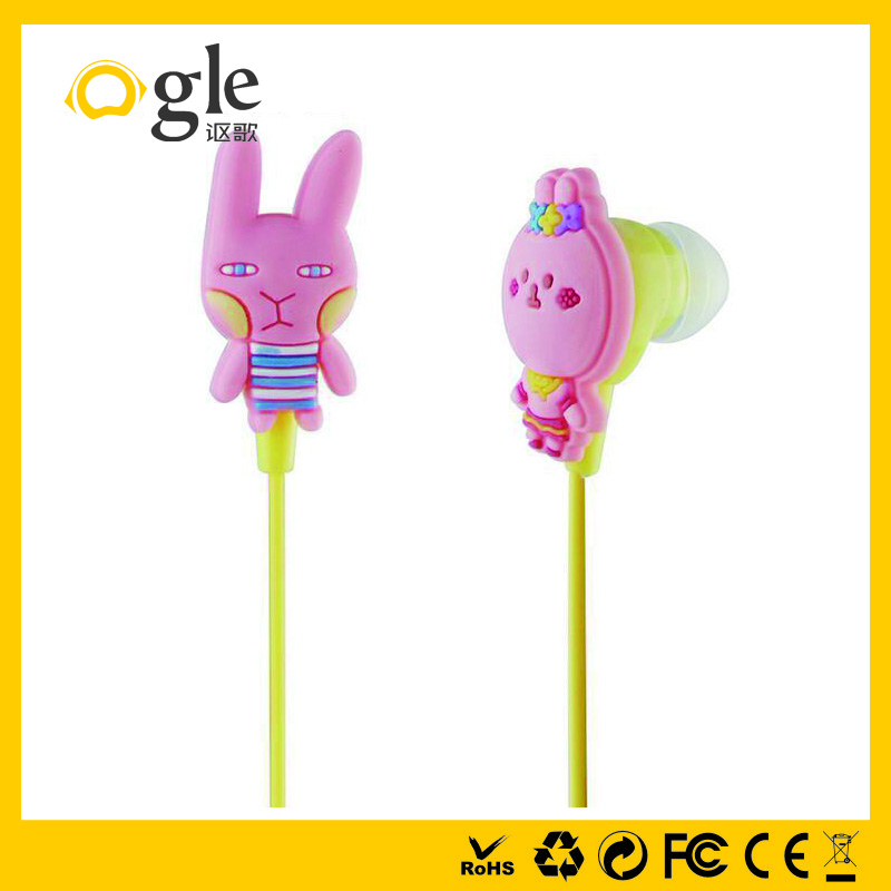 Best selling consumer electronics cheap custom kids earphones for mp3 player