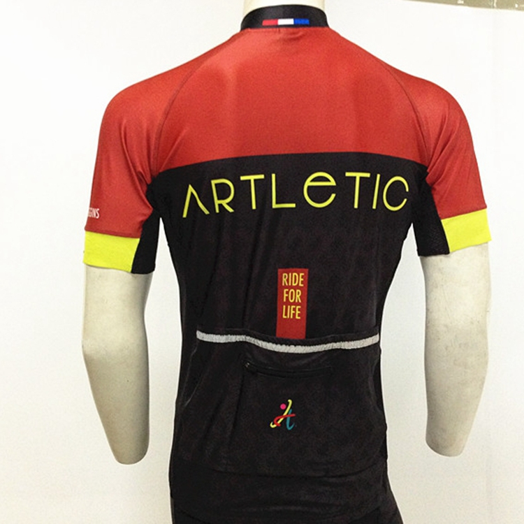 Custom sublimation quick dry short cycling jersey bike bicycle wholesale bike clothes