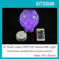 Japanese party decoration 4 flash modes LED light with water beads