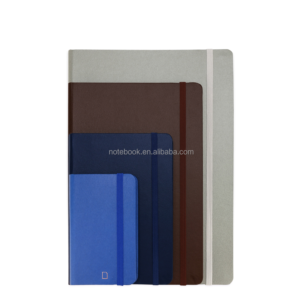 Antique leather journal small blank notebooks for kids A7