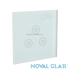High Quality Touch Switch Crystal Glass Panel