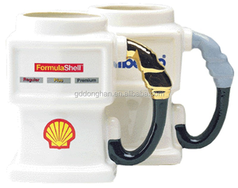 creative ceramic 11 oz Gas Pump Mug