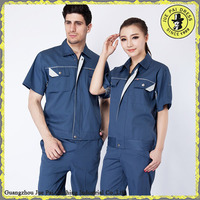 Short Sleeves Cotton Smock For Workwear, Wholesale Nylon Smock For Worker