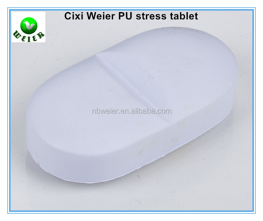 8.7x4.6x2.5cm bulk polyurethane PU tablet/custom printed PU stress ball tablet type/stress toy PU toy tablet style